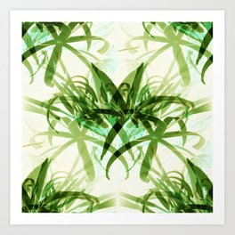 That  Bamboo  look.... Art Print