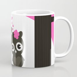 Enamoured owls Coffee Mug