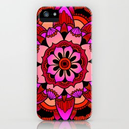 Mandala v2 iPhone Case