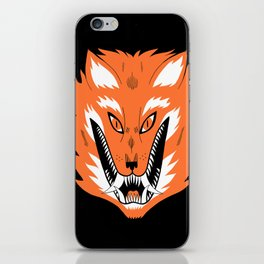 Cursed Fox iPhone Skin