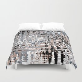 Abstract background 111 Duvet Cover
