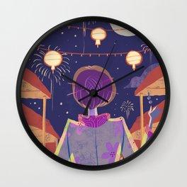 Japanese Festival Wall Clock