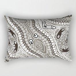 Blaq &White Rectangular Pillow