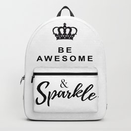 Positive Sparkle Vibes Backpack