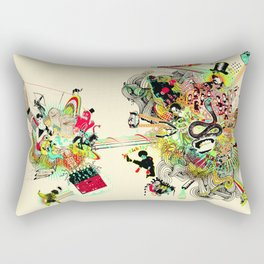 Training for Utopia Rectangular Pillow