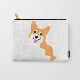 Corgi Smile Carry-All Pouch
