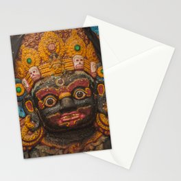 Temples and Architecture of Kathmandu City, Nepal 002 Stationery Cards
