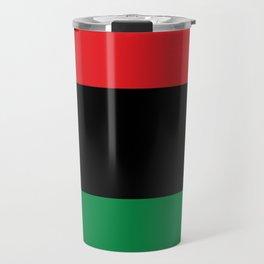 flag of Pan-Africanism or Unia Travel Mug