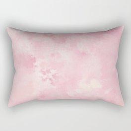 Pink rose fuscia batic look Rectangular Pillow