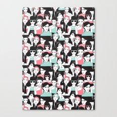 fashion pack Canvas Print