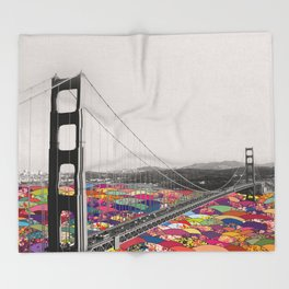 It's in the Water Throw Blanket