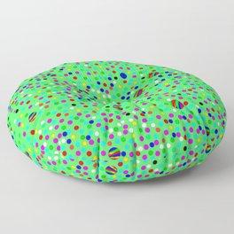 Colorful Rain 10 Floor Pillow