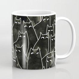 Suspicious Cats Coffee Mug