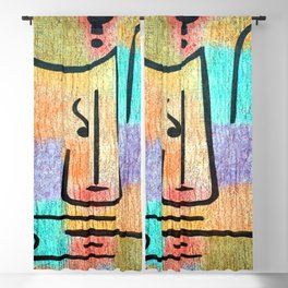 Paul Klee Archangel Blackout Curtain