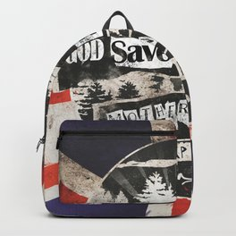 God save the forest Backpack