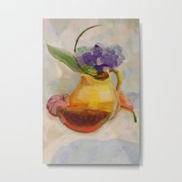 Kitchen Bouquet Metal Print