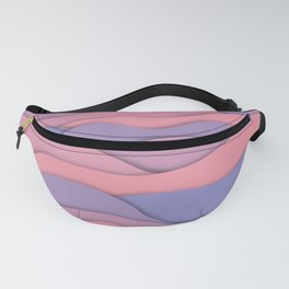 purple fantasy Fanny Pack