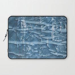 Dark slate blue nebulous watercolor texture Laptop Sleeve
