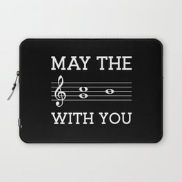 May the 4th be with you (dark colors) Laptop Sleeve