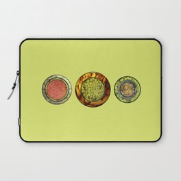 Food Mix Tris Laptop Sleeve