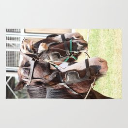 Clydesdales - Ready for Work Rug