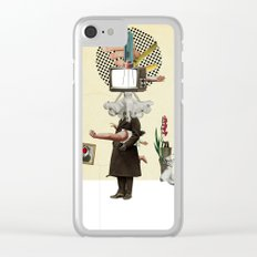 The truth is dead 1 Clear iPhone Case