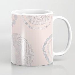 Gray flowers Coffee Mug