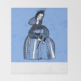 Mary Queen of Scots Throw Blanket