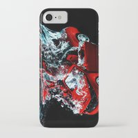 mustang iPhone & iPod Cases featuring Mustang by Conor O'Mara