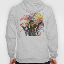 Fire Fly Poster Hoody