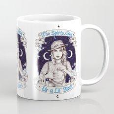 Mystic Miss Maggie Esmerelda (b&w) Mug