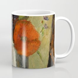 "Paul Gauguin ""Fleurs d'été dans un gobelet (Summer flowers in a pot)"" Coffee Mug"