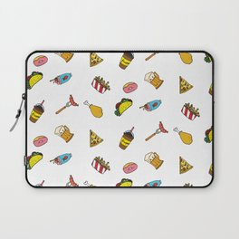 Calorie Counting Junk Food Laptop Sleeve