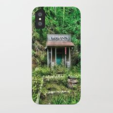 Abandoned Barber Shop iPhone X Slim Case