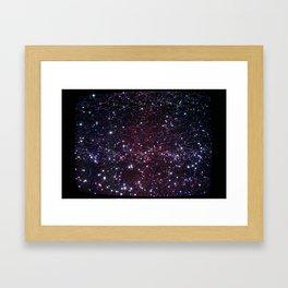 Tube Space Framed Art Print