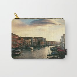 Venice on sunset Carry-All Pouch