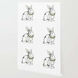 flower Bunny Wallpaper