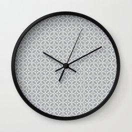 Maroccan grey 2 Wall Clock