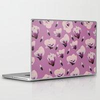 magnolia Laptop & iPad Skins featuring Magnolia by Georgiana Paraschiv