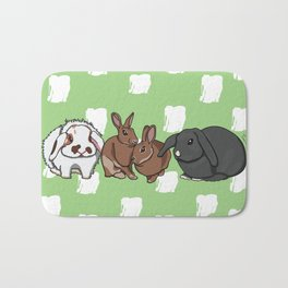 Mopsey Cottontail Tuppence Florin Bath Mat