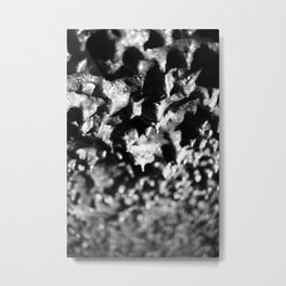 Lava tube cave Metal Print