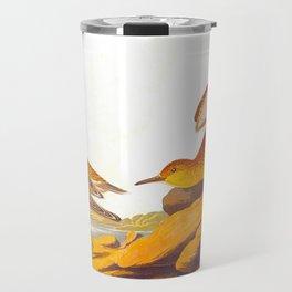 Buff-breasted Sandpiper Bird Travel Mug