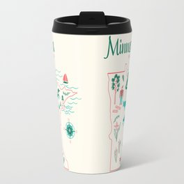 Minnesota State Love Travel Mug