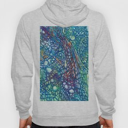 Abstract cells Hoody