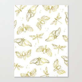 Golden Wings Canvas Print