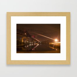 Braga Bridge Framed Art Print