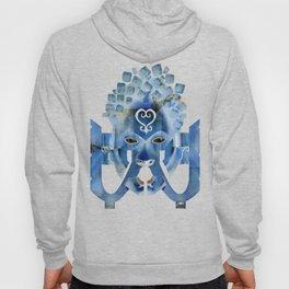 Sankofa Spirit - Blue Variant Hoody
