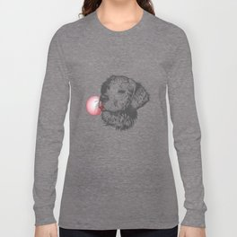 Bubble Gum Dog Long Sleeve T-shirt