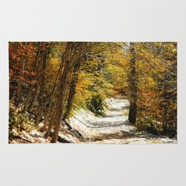 The First Snow Rug