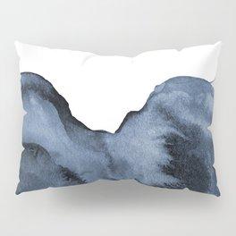 Watercolor Splash in Blue Pillow Sham